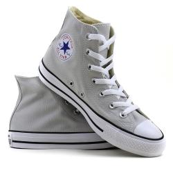Trampki Converse wysokie popielate - 151170 C