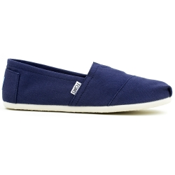 Damskie Toms Navy Canvas
